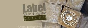 label savon de Marseille